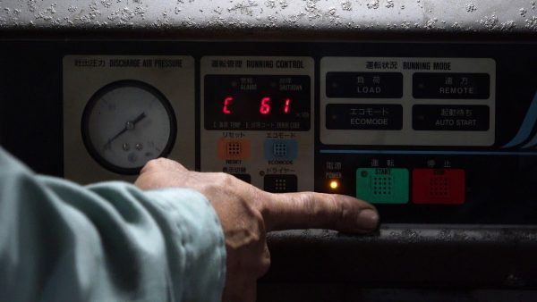 Bảng điều khiển máy nén khí